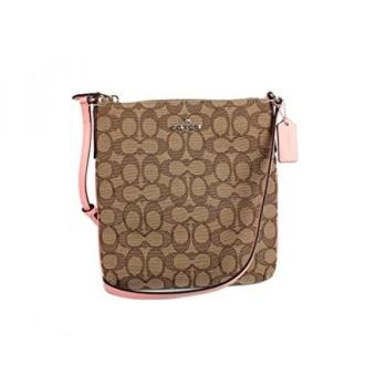 57dcd174ef Coach Drifter Top Handle Bag GPL Coach Signature C Outline Khaki Pink  Crossbody Swingpack Shoulder Bag F58421ship from ...