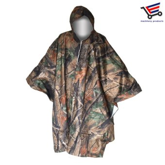 H-917 Multifunction Military Camouflage Waterproof Universal SizeRain Coat Poncho