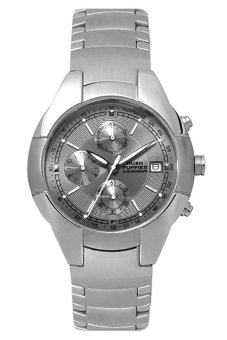 hush puppies hp 6693m 1517 mens stainless steel strapwatch