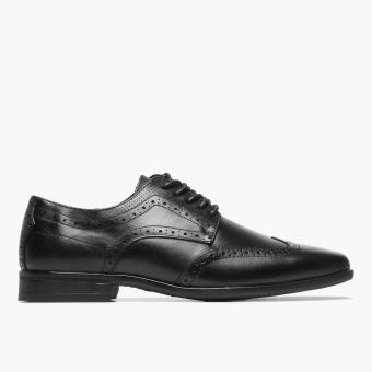 Hush Puppies Mens Lamont Max Derby Shoes (Black)
