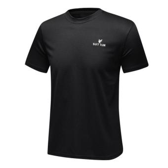 I outdoor New style short sleeved quick-drying T-shirt (Black)