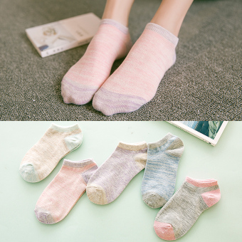 I women's Four Seasons thin women's Socks (919 Japanese-style short socks)