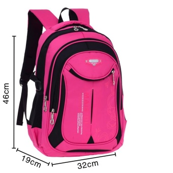 (Imported)BEST-HFHH Top rate Fashion School Backpack Women Children Schoolbag Back Pack Leisure Korean Ladies Knapsack Laptop Travel Bags for Teenage Girls - intl