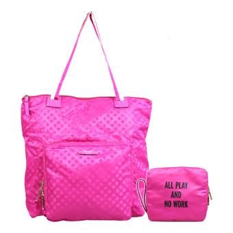 Kate Spade Bon Voyage Foldable Bag (Pink) - picture 2