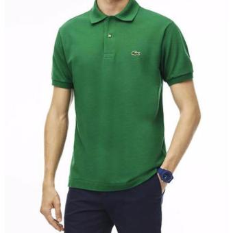 LACOSTE CLASSIC POLO SHIRT FOR MEN (EMERALD GREEN)