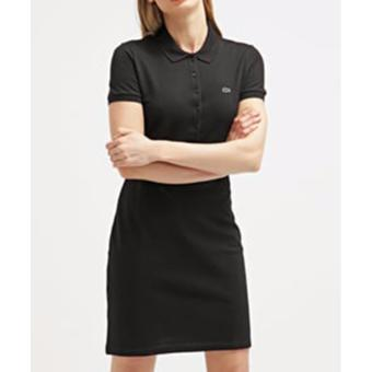 LACOSTE DRESS FOR WOMEN (BLACK)