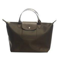 Longchamp Neo Le Pliage Medium Tote Bag (Black)