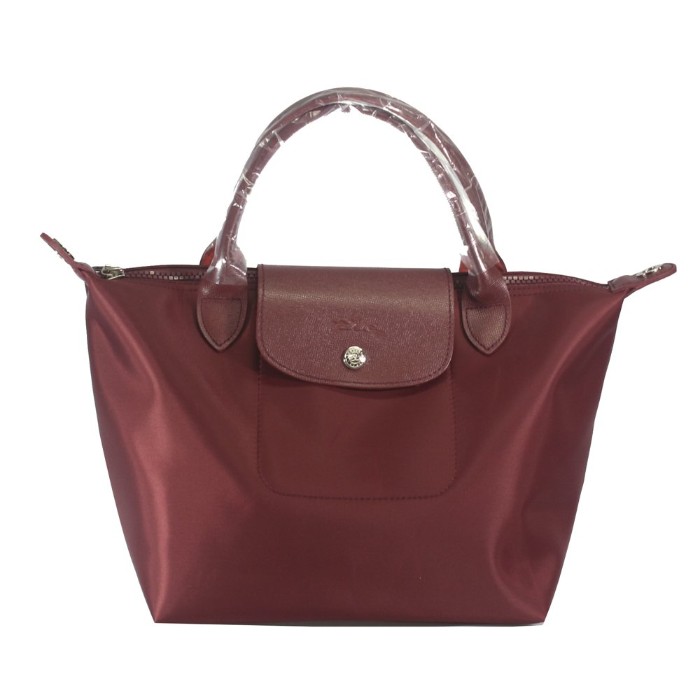 Longchamp Neo Le Pliage Medium Tote Bag (Opera Red)