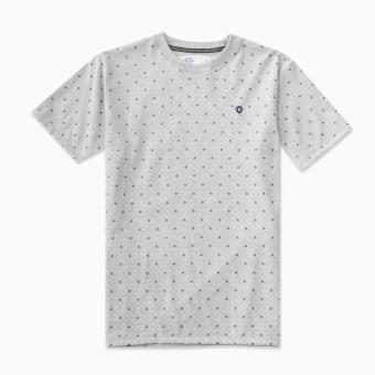LOYAL Polka Dot Tee in Gray