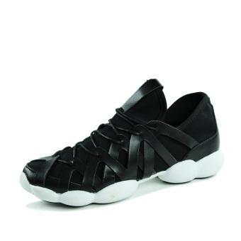 Men Fashion Leisure Low Cut Sneakers-Black - picture 2