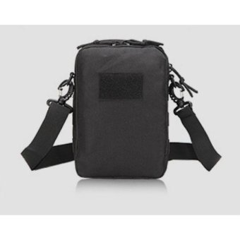 Mens Sports Bag Tactical Outdoor Chest Bag Cross-Body Bag(Black) -intl