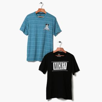 Mickey Mouse 2-piece Teens Graphic Tee Set (XL)