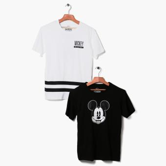 Mickey Mouse 2-piece Teens Graphic Tee Set (XS)