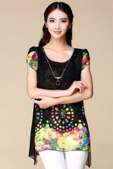 moonar womens summer floral print t shirt tops blouse