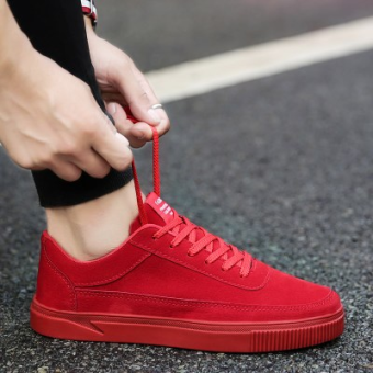 New style autumn men shoes (TX-1700 red)
