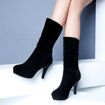 New style high-heeled boots winter boots