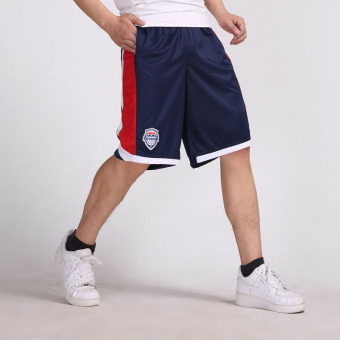 New style shorts basketball shorts (Dark blue color)