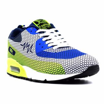 New York Sneakers DANLOV Rubber Shoes(WHITE/BLUE/GREEN)