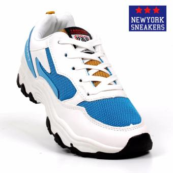 New York Sneakers Heiden Rubber Shoes(WHITE/BLUE)
