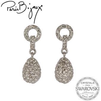Paris Bijoux E111582A Earrings (Silver)