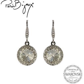 Paris Bijoux E111922A Earrings (Silver)