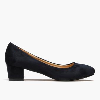 Parisian Basic Ladies Hazel Pumps (Dark Blue)