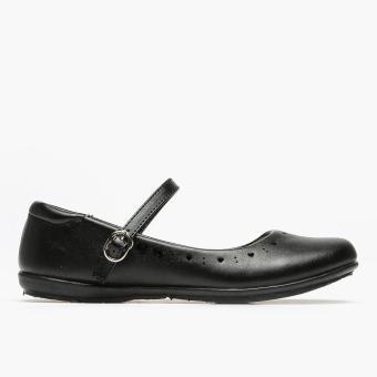 Parisian Teen Girls School Shoes (Black)