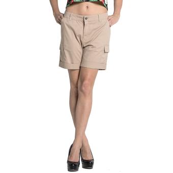 Penshoppe Non-Denim Bermuda Short (Khaki)