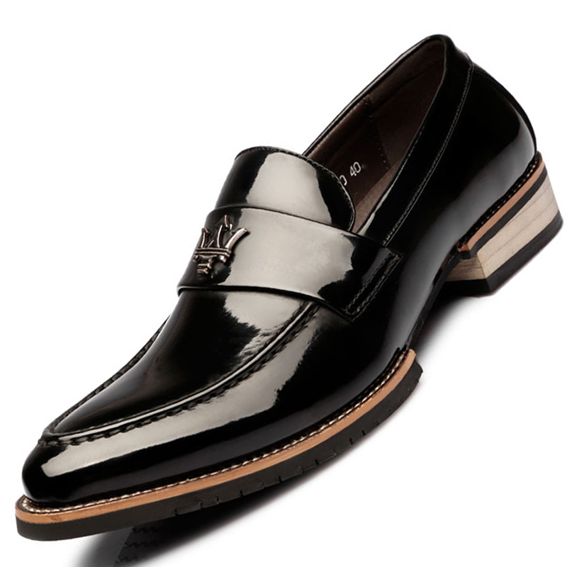 paragon leather derby shoes black lazada ph
