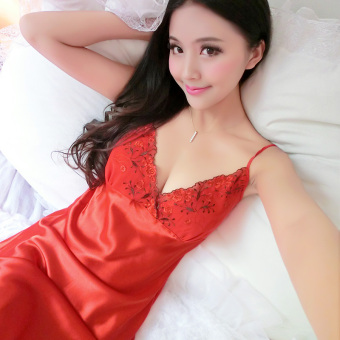 Princess student LOOESN pajamas lingerie (09 red)