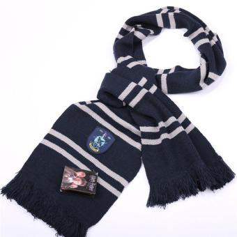 Ravenclaw Harry Potter Hogwarts Knitted Stripes Scarf