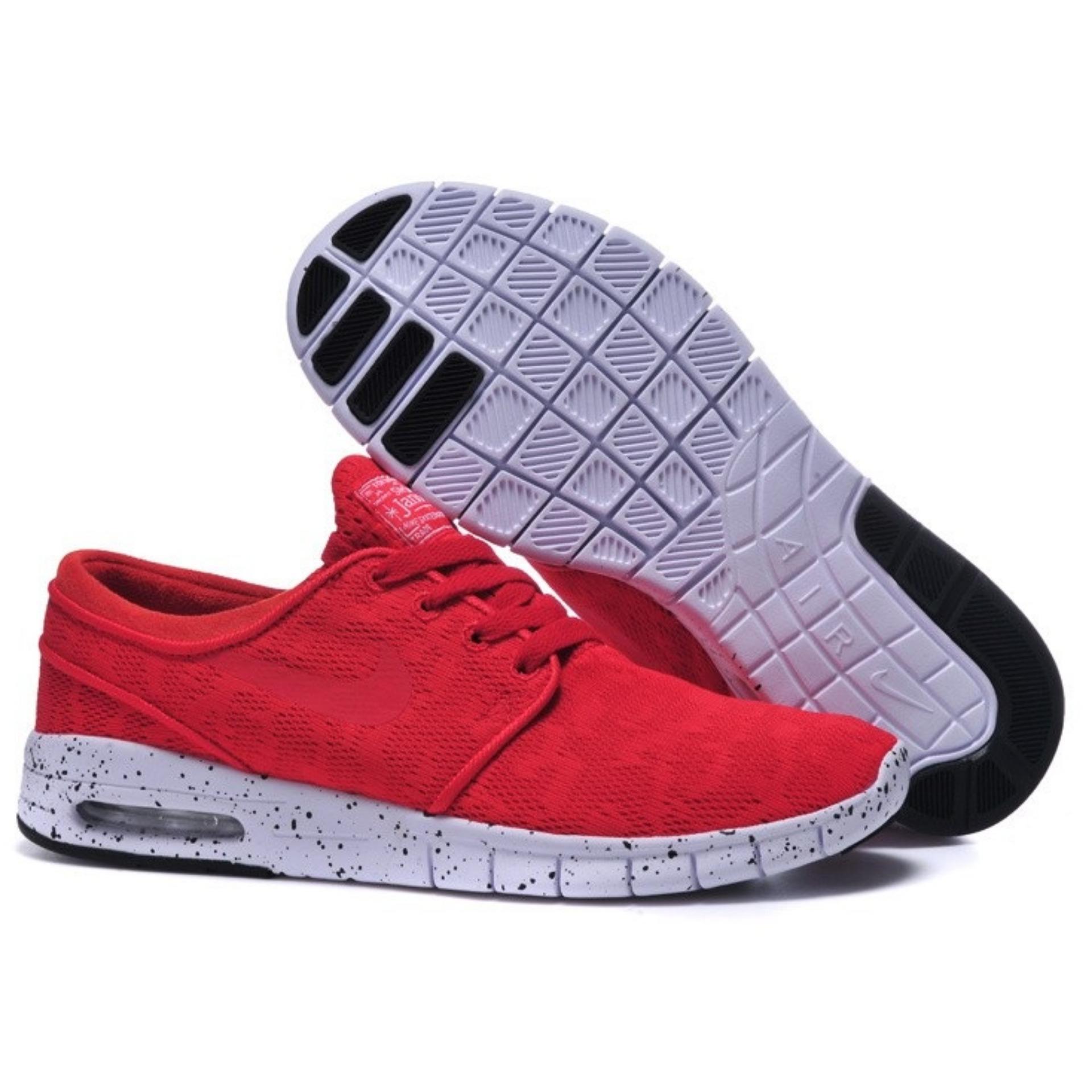 SB Stefan Janoski Max Running Shoes Women Size 36-40 Red - intl ...