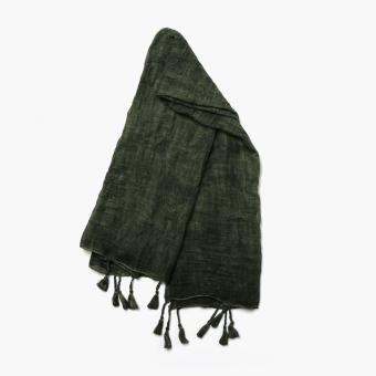 SM Accessories Ladies 401519 Tie-Dye Shawl (Green)