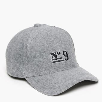 SM Accessories Mens Baseball Cap (Grey)