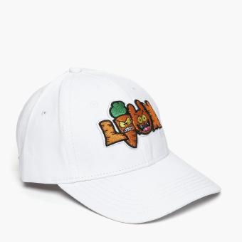 SM Accessories Mens Baseball Cap (White)