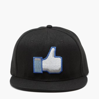 SM Accessories Mens Like Button Snap Back Cap