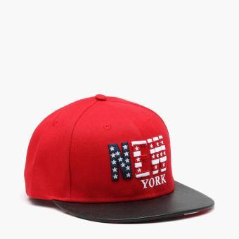 SM Accessories Mens New York Snap Back Cap