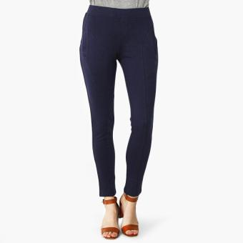 SM Woman Cut and Sew Jeggings (Navy Blue)