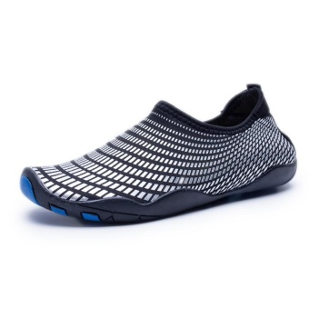 Sneakers For Men Stretch Fabric Beach Water Shoes Summer 2017Comfortable Sport Footwear Lightweight Outdoor Aqua Shoe - intl