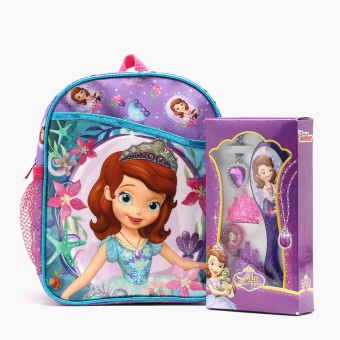Sofia the First Square Backpack and Fashion Collection Set