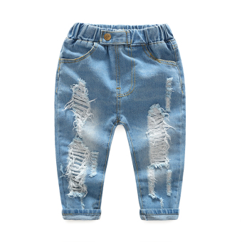 Spring and Autumn New style boy's casual cowboy pants