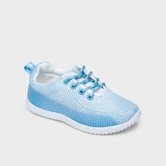 Sugar Kids Girls Sheril Lace-up Sneakers (White)