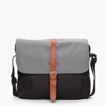 Summit Lifestyle Zai Messenger Bag (Gray And Black)