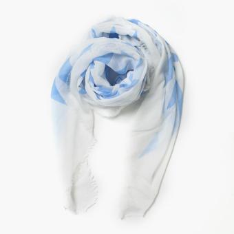 Tropiko by Kultura Ethnic Scarf (Light Blue)