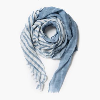 Tropiko by Kultura Striped Scarf (Blue)