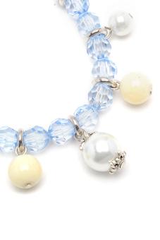 TRRRIXII LJ-02303D Bracelet (Blue/White)