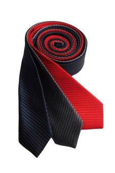 Well Suited Solid Stripe Slim Necktie Combo 2