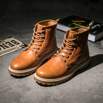 Winter to help Dr. Martens men's shoes (Brown)