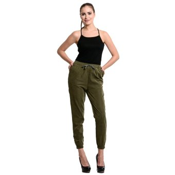 Wrangler Ladies' Jogger Pants (Green)