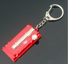 PHP 580 2pcs Metal Auto Car Logo Key Ring Keyring Keychain Key Chain .
